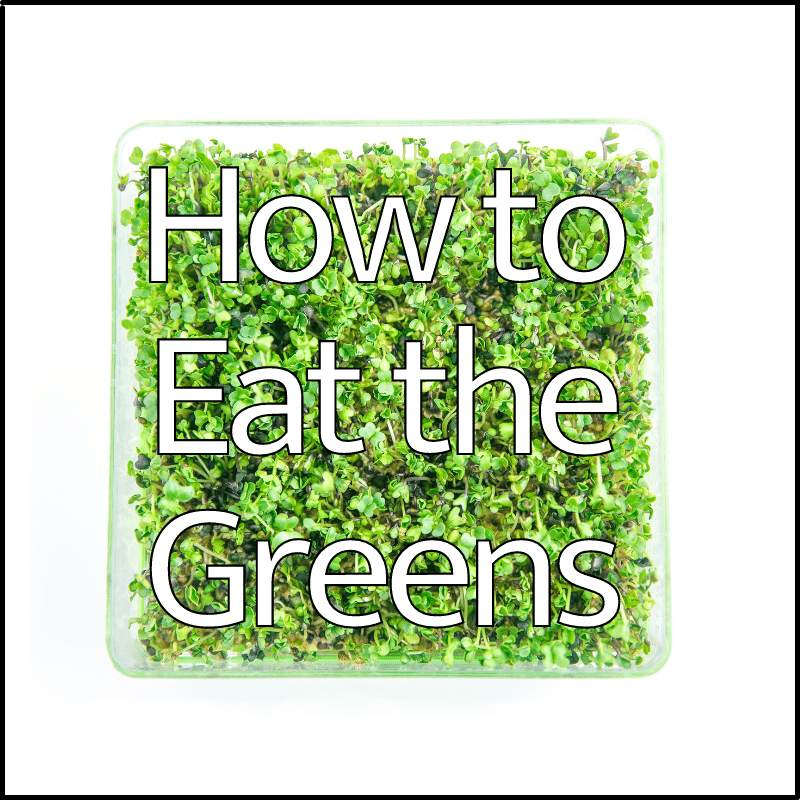 How to eat micro greens